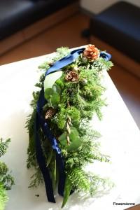クリスマススワッグ作り 横浜